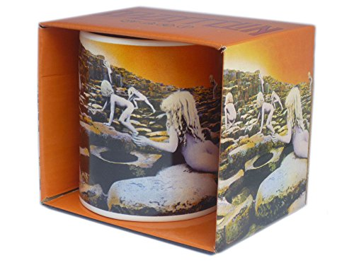 LED ZEPPELIN–Rock Band tazza regalo tazza–Houses of the Holy–Toll imballato in una scatola regalo