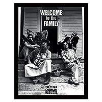 TEXAS CHAINSAW MASSACRE 悪魔のいけにえ - Welcome to the Family/インテリア額 【公式/オフィシャル】