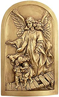 Design Toscano God Guardian Angel Wall Sculpture