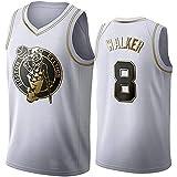 DIMOCHEN Movement Ropa Jerseys de Baloncesto para Hombres, NBA Boston Celtics 8# Bill Walker, cómodo, Camiseta Uniformes Deportivos Tops(Size:XL,Color:G1)