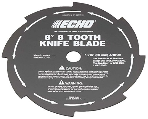 Echo 69600120331 8' 8-Tooth Grass & Weed Blade