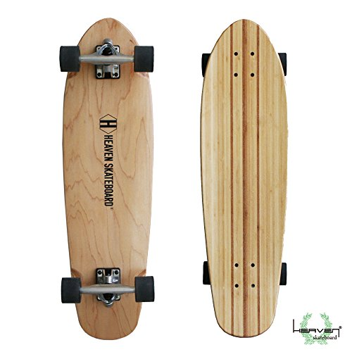 32インチ ロングスケートボード HEAVEN Huntington 32 inch ヘブン ハンティントン 32インチ 安定したライ...