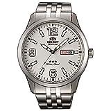 Orient Reloj Analógico para Hombre de Automático con Correa en Acero Inoxidable RA-AB0008S19B
