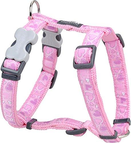 Red Dingo Designer Hundegeschirr, Design Breezy Love, 25mm x Halsumfang: 46-76cm / Körper 56-80cm Größe L