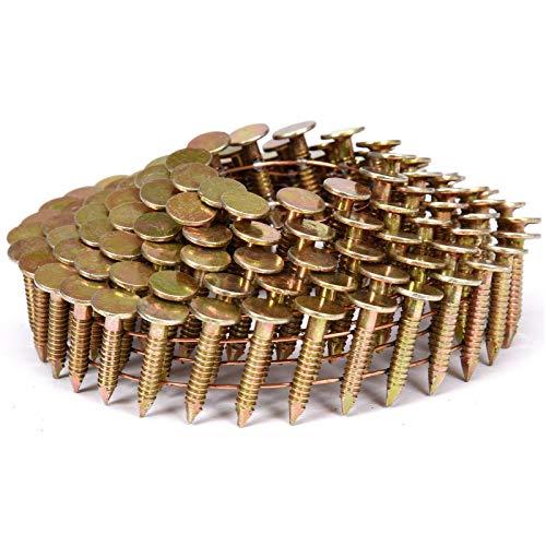 VOREL drahtgebundene Papp-Coilnägel Spulennägel Trommelnägel | Mengen und Größen nach Wunsch: 19 x 3,1mm, 22 x 3,1mm | Dachpappennägel (4200, 19x3,1mm)