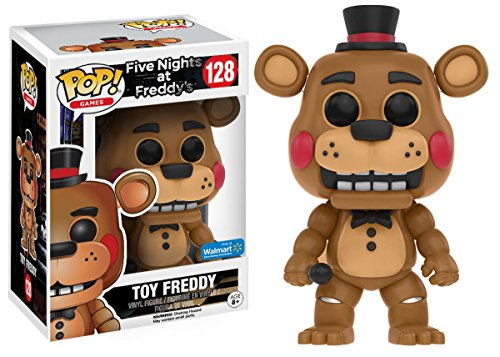 Funko Five Nights At Freddy's Limited Edition Toy Freddy Pop! Walmart Exclusive