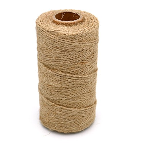 1 pcs 328 pies Natural Yute Twine mejor Arts Crafts - Cordel
