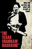 ポスター テキサスチェーンソー虐殺シルエット映画アートポスター A3サイズ [インテリア 壁紙用] 絵画 アート 壁紙ポスター