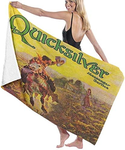 DanielCJackson Quicksilver Messenger Service Bath Towels Fast Drying for Swimming Gym Camping product image