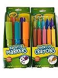 Crayola Bathtub Markers with 1 Bonus Extra Markers AND Crayola Bathtub Crayons with 1 Bonus Extra Crayons