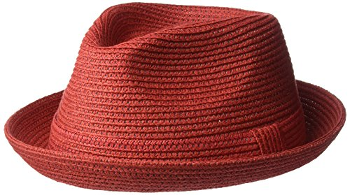 Bailey of Hollywood Herren Billy Braided Trilby Hat Fedora| Cayenne| X-Large | Accessoires > Hüte > Trilbys | Bailey of Hollywood
