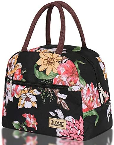 ILOME Insulated Lunch Bag Large Waterproof Adult Lunch Tote Bag for Lunch Box for School Women product image