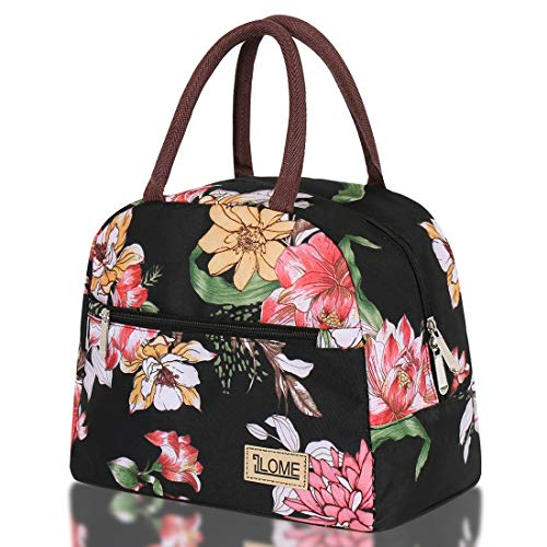ILOME Insulated Lunch Bag Large Waterproof Adult Lunch Tote Bag for Lunch Box for School Women or Men Picnic Working