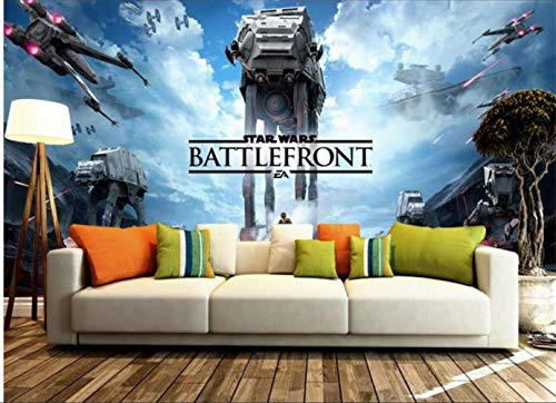 3d Room Wallpaper Custom Hd Photo Mural No Tejido Etiqueta De La Pared Star Wars City Architecture Painting Photo Wallpaper Wall 3d