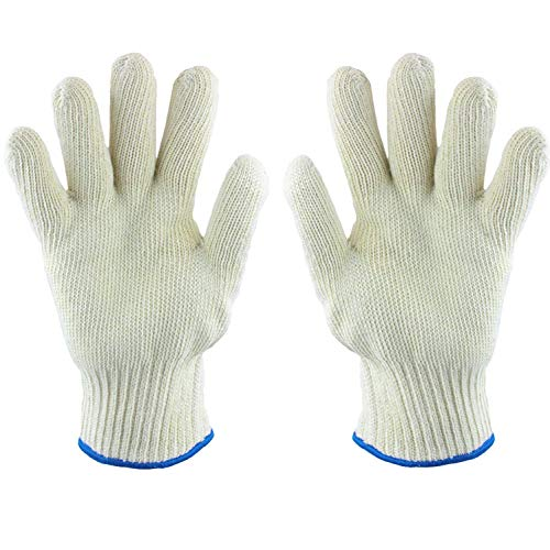 Extreme Heat Resistant Oven Gloves Resists Temperature up to 480 Degrees - Kitchen Pot Holders...