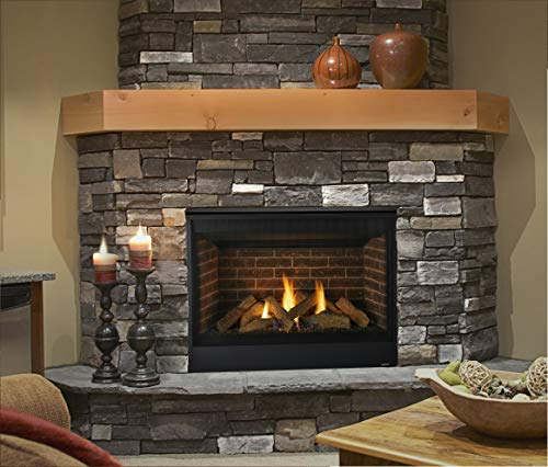 Majestic Quartz Series Direct Vent Gas Fireplace with Intellifire Ignition (42N)