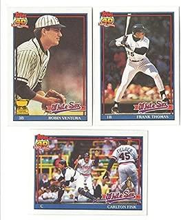 1991 Topps - CHICAGO WHITE SOX Team Set