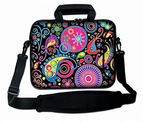 ChaoDa Colorful Paisley 9.7' 10' 10.1' inch netbook tablet Shoulder Case Carrying Bag For Amazon Kindle DX /Apple iPad 2 3/Lenovo S10 /Acer/Aspire ONE /ASUS EEEPC /HP /Dell Inspiron Min /Toshiba /Samsung/Sony