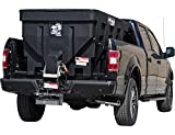 Buyers Products SaltDogg 1.5 Cubic Yards Electric Poly Hopper Spreader, Black
