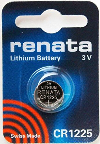 CR1225 Batteria Pulsante / Litio 3V / per Orologi, Torce, Chiavi della Macchina, Calcolatrici, Macchine Fotografiche, etc / iCHOOSE