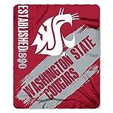 Washington State Cougars 'Painted' Fleece Throw Blanket, 50' x 60'