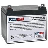 12V 33Ah NB AGM Battery Replaces U1-33-12B, NP35-12, NP35-12B, DCM0035L, SLA1155, 6-GFM-33, 6-GFM-35, GP12340, EVX12340, EVH12390, GH12340, U1-33H, U1-33HE, U1-34H, U1-34HE, U1-36HH, WP33-12
