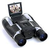 PIGE Telescope Caméra LCD Appareil photo numérique Jumelles 12x32 5MP Video Photo...