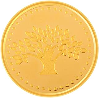 P.C. Chandra Jewellers 22k (916) 10 gm Yellow Gold Coin