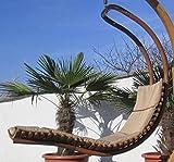 DESIGN Schwebeliege Hängeliege Hängesessel aus Holz Lärche Modell: 'NAVASSA-SEAT' Mit Auflage (ohne Gestell) von AS-S - 2
