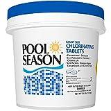 Pool Season 3' Chlorine Tablets - 25LB Bucket