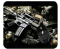 オフィスマウスパッドウェポンアサルトライフル軍用銃器プロフェッショナルマウスパッド