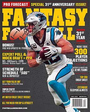 Pro Forecast Fantasy Football Magazine 2020
