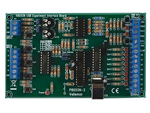 Velleman K8055N Experimentier-Interface Bausatz