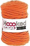 Hoooked RibbonXL - Ovillo de Lana (120 m), Color Naranja