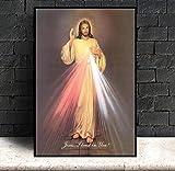 FA LEMON Barmherzigkeit Jesu Leinwand Malerei Wandkunst
