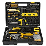 218 Pcs Home <span class='highlight'>Tool</span> Kit Set, <span class='highlight'>Mechanic</span> <span class='highlight'>Tool</span> Set for Car Motorbike Repair Daily Maintenance, Household DIY <span class='highlight'>Tool</span> Box with <span class='highlight'>Tool</span>s Included, Hammer Pliers Screwdrivers Basic Hand <span class='highlight'>Tool</span> Sets