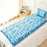 WISFORBEST Wasserbett mit kühlendes Kopfkissen für Mensch bequem schlafen,Kühlmatte Komfort Bett Kopfkissen für Rückenschmerzen,nachfüllbares Kühlkissen hilft bei Migräne Fieber Schwitzen,195×88cm