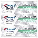 Crest 3D White Brilliance Blast, 4.1Oz Triple Pack blindfolds May, 2021