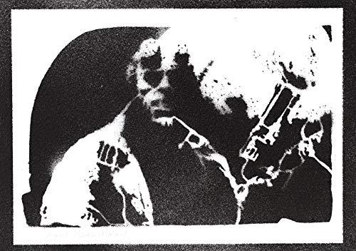 Hellboy Poster Plakat Handmade Graffiti Street Art - Artwork