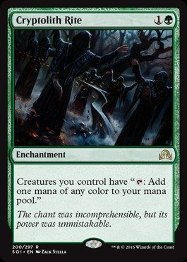 Magic The Gathering - Cryptolith Rite (200/297) - Shadows Over Innistrad