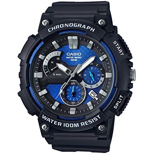 Casio Orologio Cronografo Quarzo Uomo con Cinturino in Resina MCW-200H-2AVEF
