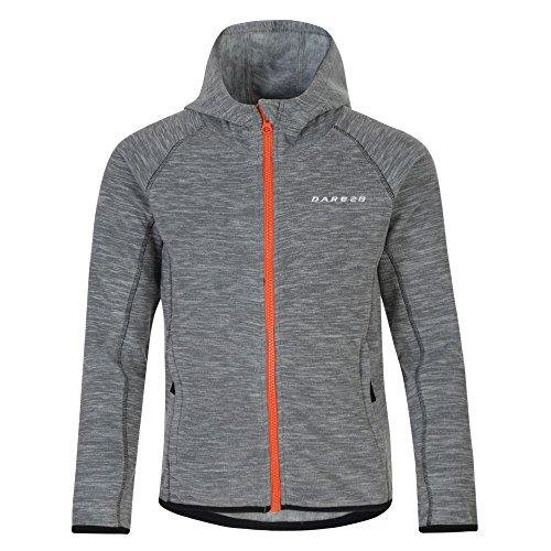 Dare 2b Boys & Girls Entreat Full Zip Contrast Marl Fleece Jacket