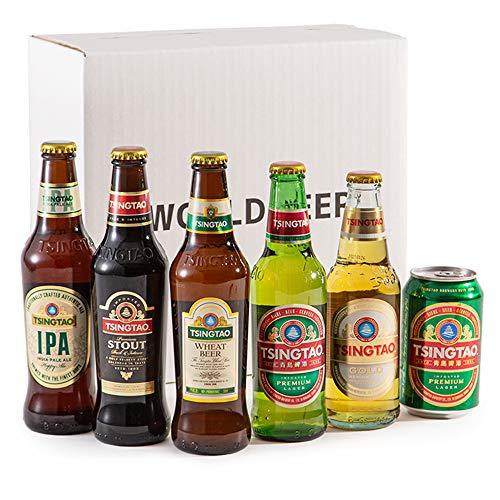 【WEB限定】青島ビール 飲み比べギフトBOX 全6種類 [ 中国 1946ml /6本 ]