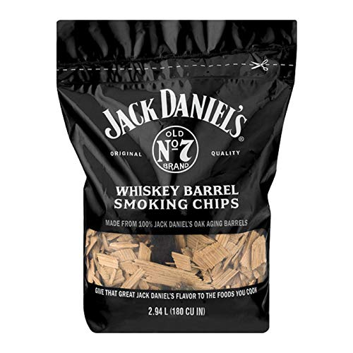 Jack Daniel's Tennessee Whiskey Barrel Smoking Chips, 180 cu inch