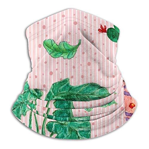 JaOUIY Zimmerpflanzen in Töpfen Wärmer Winddichte UV-Schutzhalsmanschette Schal Bandana Gesichtsmaske für Outdoor-Aktivitäten