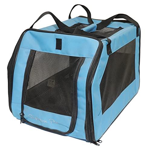 Rosewood Soft Protection Sac de Transport pour Chien Moyen Bleu Turquoise