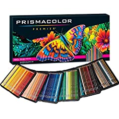 Soft, thick cores are perfect for shading and shadows Lightfast, richly saturated pigments Ultra smooth, even color laydown Thick, robust leads resist cracking and chipping making them perfect for adult coloring books 150 premium colored pencils