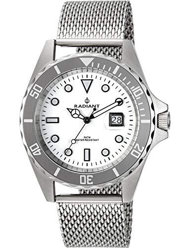 Radiant Reloj Analógico para Hombre de Cuarzo con Correa en Acero Inoxidable RA410209