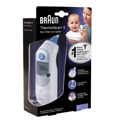 Best Prices! Braun IRT 6500 ThermoScan Ear Thermometer