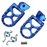 NICECNC Racing Foot Pegs Footpegs WIDE FAT for WR250F YZ250F 2001-2018 WR450F YZ450F 2003-2018 YZ250X YZ450FX 2016-2018 YZ85 2002-2018 YZ125 97-2018 YZ250 98-2018 YZ125X 2017-2018 YZ250FX 2015-2018
